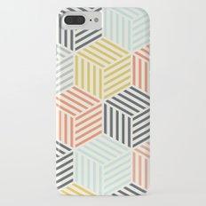 Colorful Geometric Slim Case iPhone 7 Plus