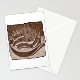 Mesa Verde Cliff Dwellings Stationery Cards