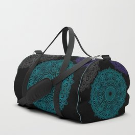 My Spirit Mandhala | Secret Geometry Duffle Bag