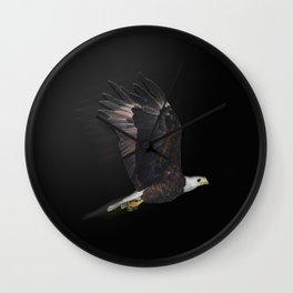 Nite Eagle Wall Clock