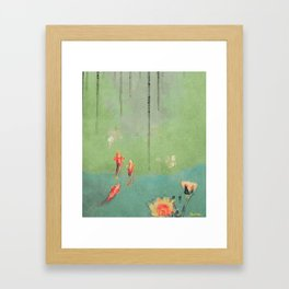 Koi Dreams Framed Art Print