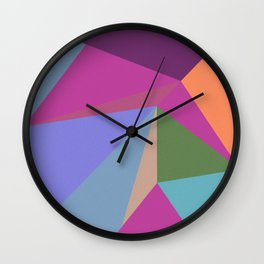 Abstract Geometry 03 Wall Clock
