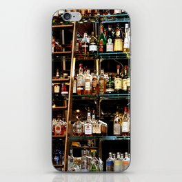 BOTTLES ALL IN A ROW iPhone Skin