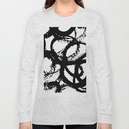 Dance Black and White Long Sleeve T-shirt