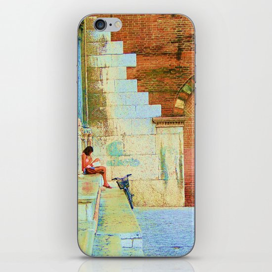 Reader iPhone & iPod Skin