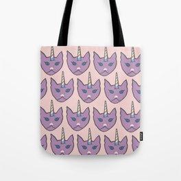 unicat - pink Tote Bag