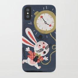 White Rabbit - Alice in Wonderland iPhone Case