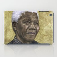 mandela iPad Cases featuring Mandela by SaraGolish