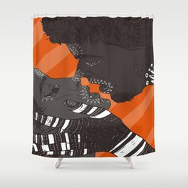 Love games Shower Curtain