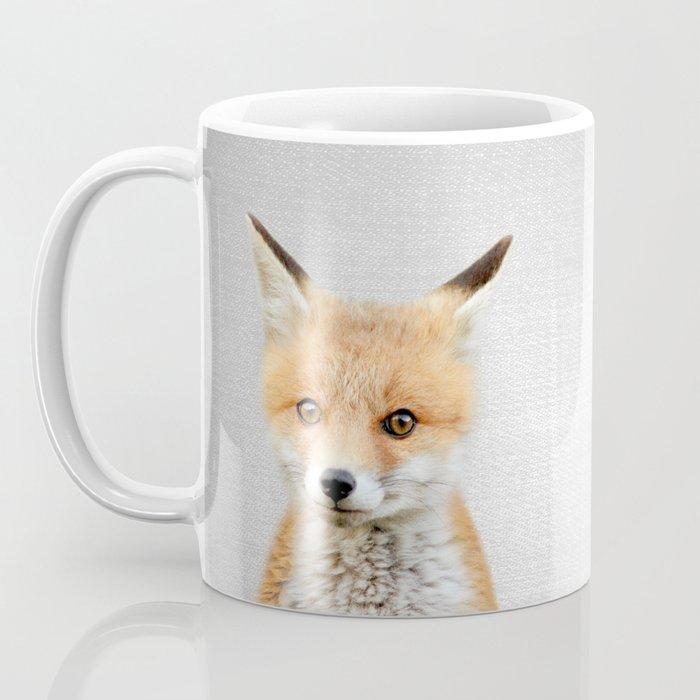 Baby Fox - Colorful Coffee Mug
