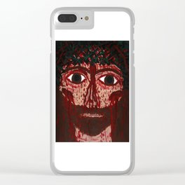 A Broken Halleluja -His Look from the Cross Clear iPhone Case