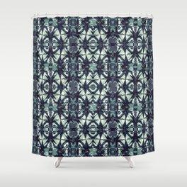 Intersecting Geometric Pattern Design Shower Curtain