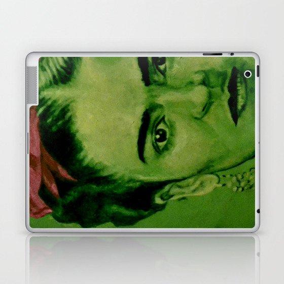 Frida Kahlo - red bow Laptop & iPad Skin