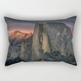 Half Dome Sunset 2 Rectangular Pillow