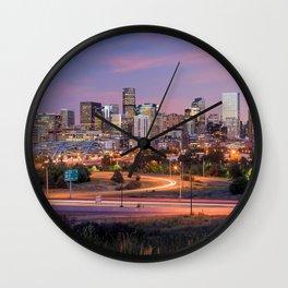 Denver - USA Wall Clock