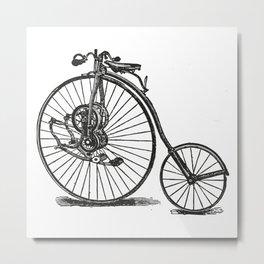 Old bicycle Metal Print