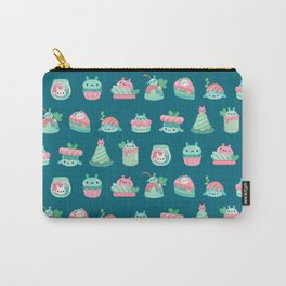Choco Mint Rabbit Carry-All Pouch