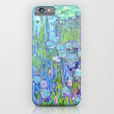 Water Lilies monet : Nympheas iPhone 6s Slim Case