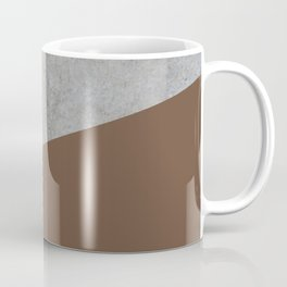 Concrete with Emperador Color Coffee Mug
