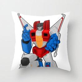 Starscream Throw Pillow