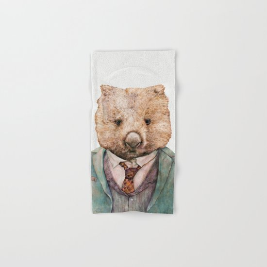 Wombat Hand & Bath Towel