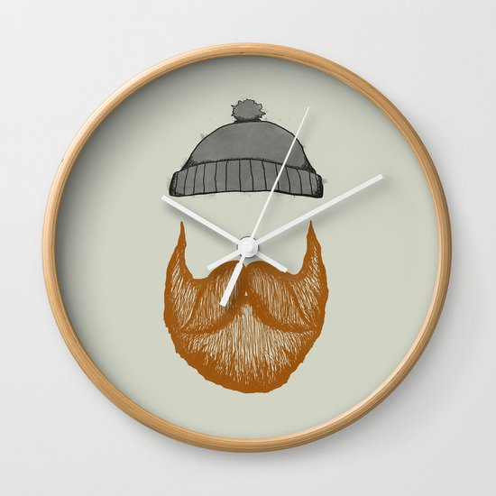 The Fisherman Wall Clock