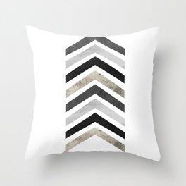 Arrow Geometric Throw Pillow