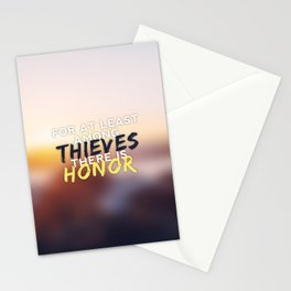 Thieves and Honor Stationery Cards