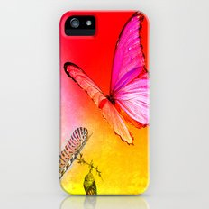The butterfly, the caterpillar and the chrysalis iPhone (5, 5s) Slim Case