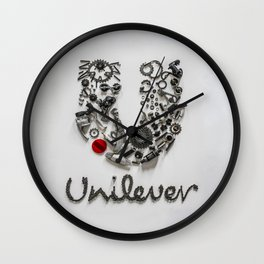 073: Unilever - 100 Hoopties Wall Clock