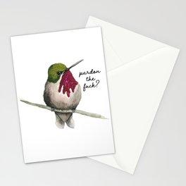 Pardon? Stationery Cards