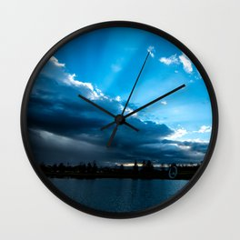 Rays of Sunshine After the Storm Wall Clock