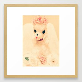 poodle princess Framed Art Print