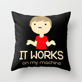 On My Machine - Gift Throw Pillow