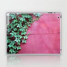 Red Wall Vine Laptop & iPad Skin