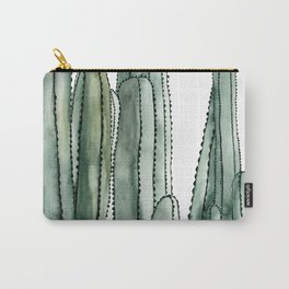 Desert Cactus Cluster Carry-All Pouch