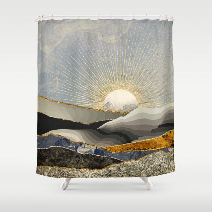 Morning Sun Shower Curtain