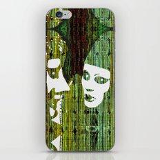 LOVE BETWEEN MASKS iPhone & iPod Skin