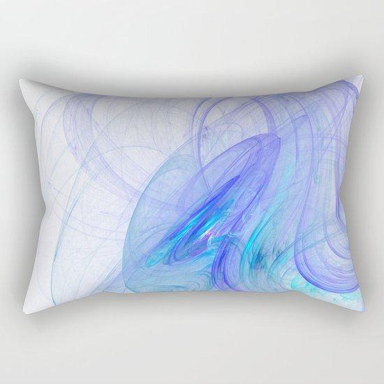 In the blue   (A7 B0218) Rectangular Pillow