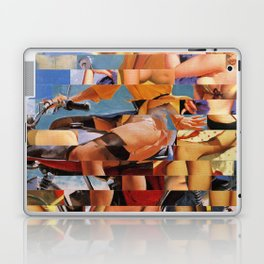 Glitch Pin-Up Redux: Zelda & Zoe Laptop & iPad Skin