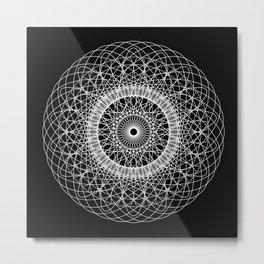 Geometric Design. Metal Print