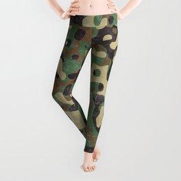 Distressed Army Camo Leggings