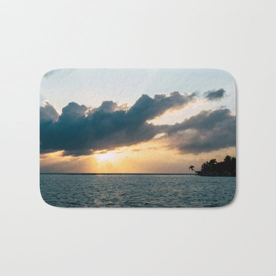 Island Sunset Bath Mat