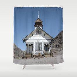CALICO SCHOOLHOUSE Shower Curtain