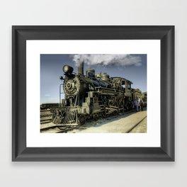 Engine 40 - Ghost Framed Art Print