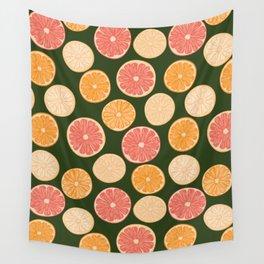 Moody 70's Citrus Wall Tapestry