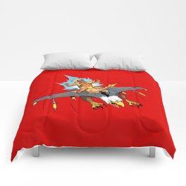Male Pattern Badness Comforters