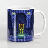 metroid Mugs featuring Metroid by likelikes