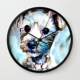 Schnoodle 3 Wall Clock