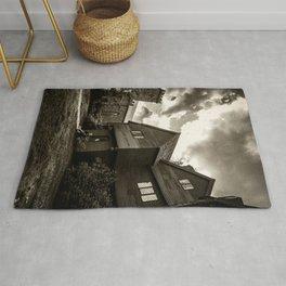 Corwin House - Salem MA - Black and White Rug